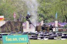 Royal Thai Army drills