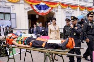 Royal Thai Army medic exhibition