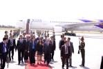 Tajikistan Yingluck arrival