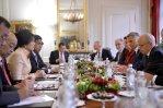 Ueli Maurer and Yingluck Meeting
