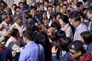 Phra That Na Dun - PM meeting the people