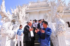 White Temple Wat Rong Khun - Caretaker Govt