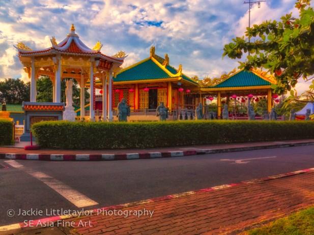 Kiew Tien Keng Chinese Shrine Saphan Hin Phuket Thailand impress