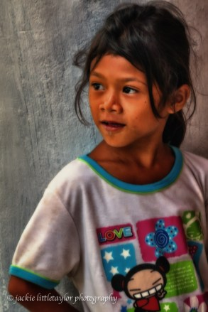 pretty young girl Issan Village life Thailand impression