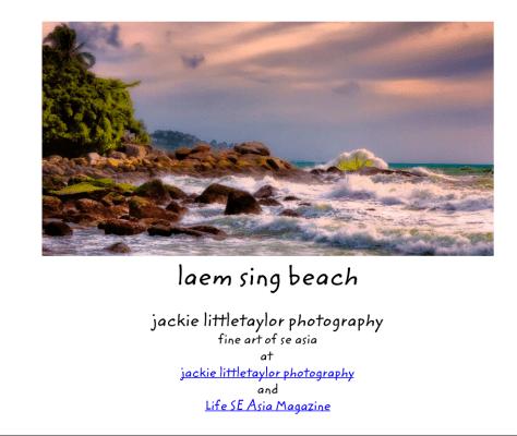 laem sing beach book