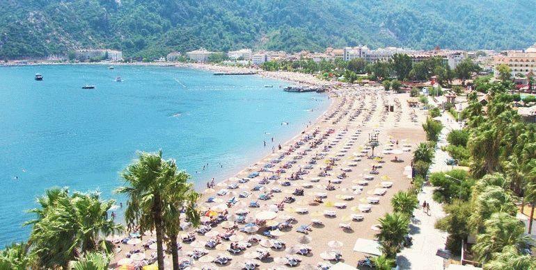 Отели с песчаными пляжами в Турции