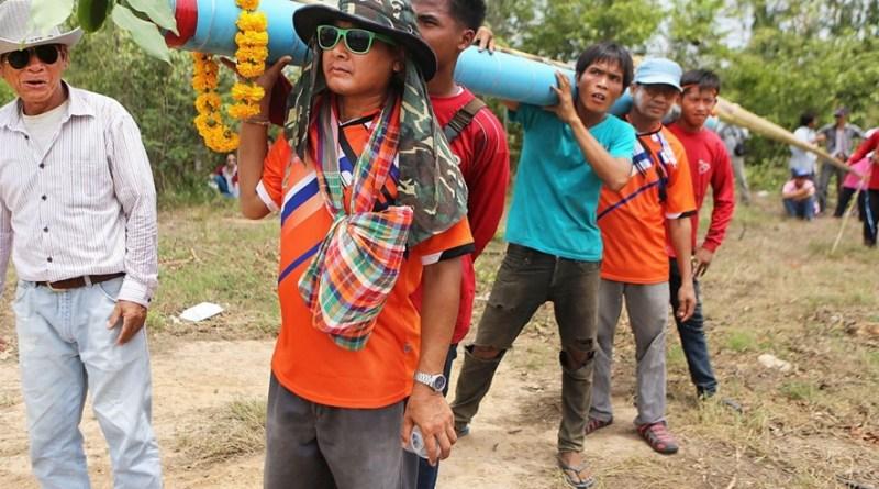Фестиваль ракет в Таиланде
