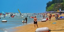 Курорт Паттайя: пляж Джометєн