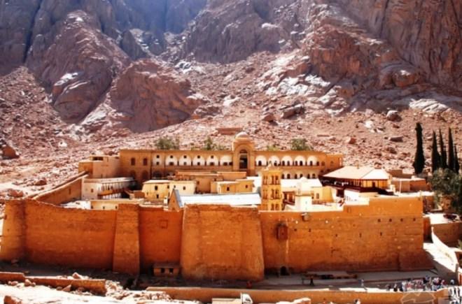 гора Святого Моисея и монастырь монастырь Святой Екатерины