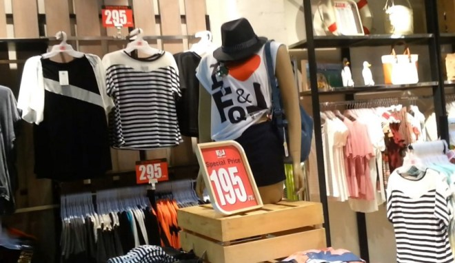 Цены в Паттайе на 2016 год - одежда