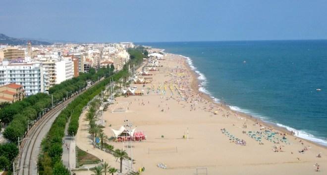 Лучшие пляжи Испании - Коста дель Mаресме