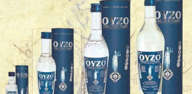 Анисовая водка «узо» - Греция