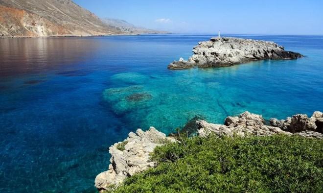 Ливийское море Греции