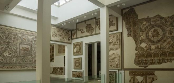 музей мозаик Бардо в Тунисе
