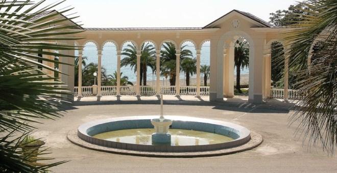 Гагрская колоннада - курорт Гагра