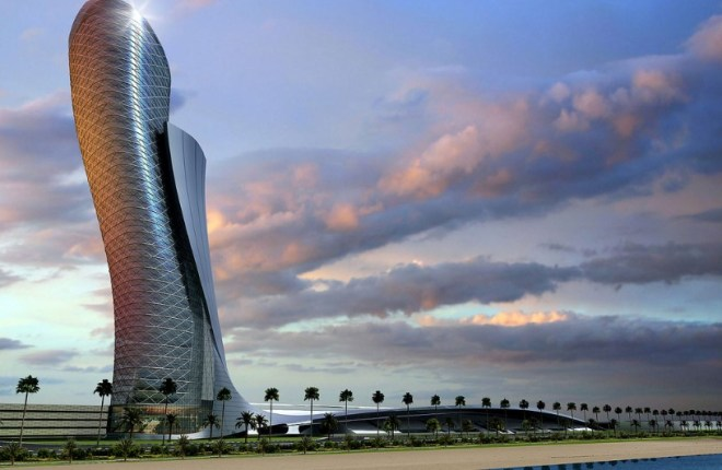 neboskreb-capital-gate-abu-dabi