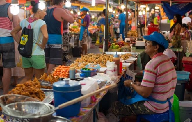 Какую пищу купить на рынках Таиланда