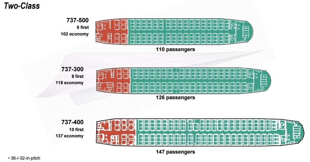 Боинг 737 сх-200 схема салона ютэйр