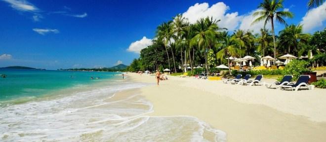 Пляжи острова Ко Самуи