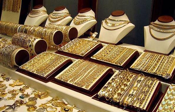 Золотые и серебряные украшения Турции