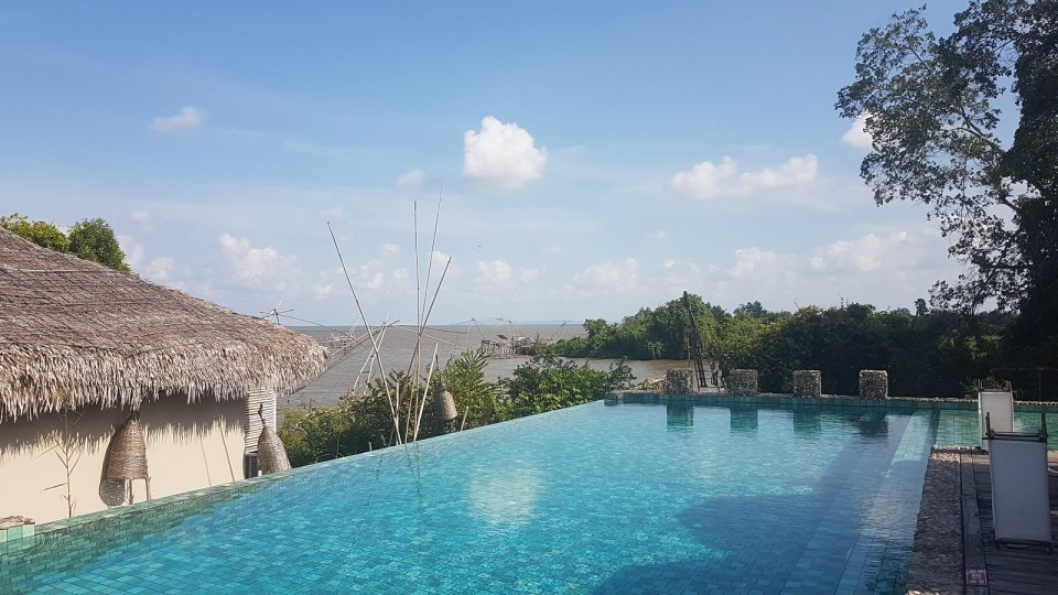 Pool at resort Tale Noi