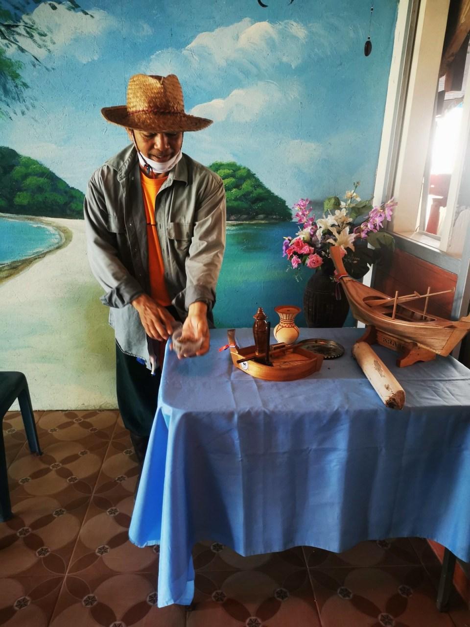 The boat master Koh Khlang