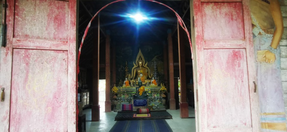 The temple in Mae Kampong