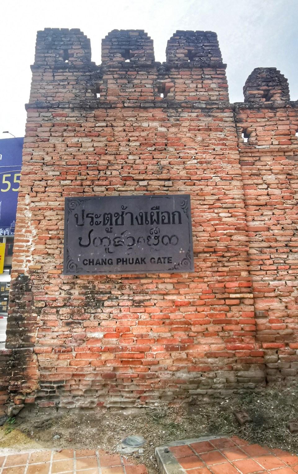 Chang Puak gate