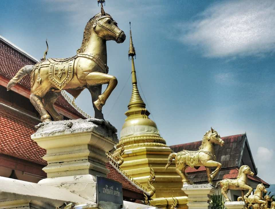 The horse temple Chiang Mai