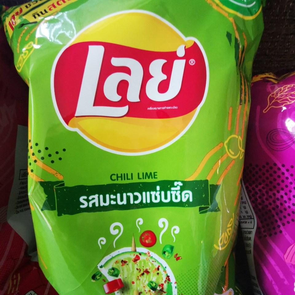 Lays Thailand Potatoe chips
