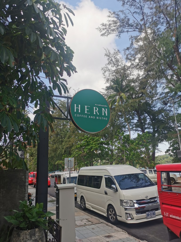 Hern Coffee and Bistro Patong.