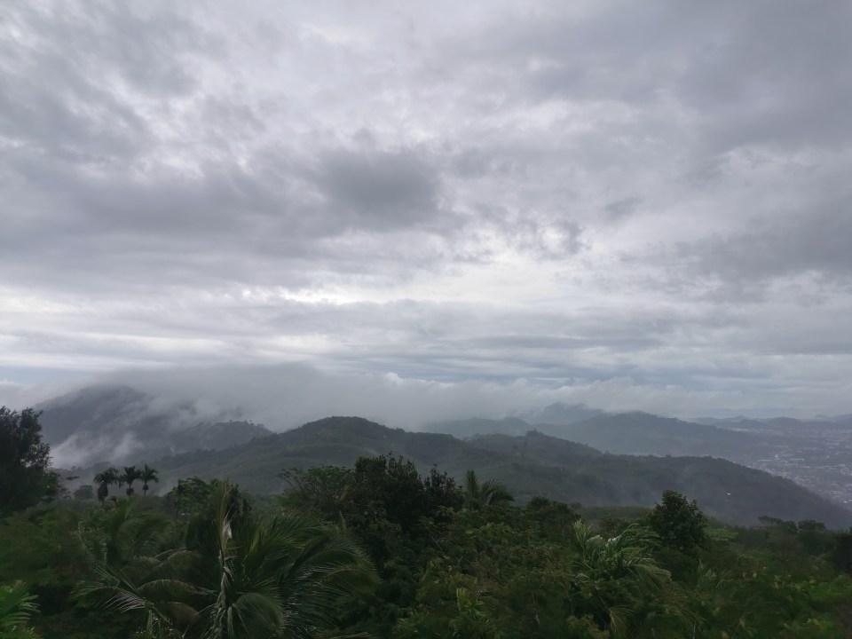 Dramatic skies over Phuket Island