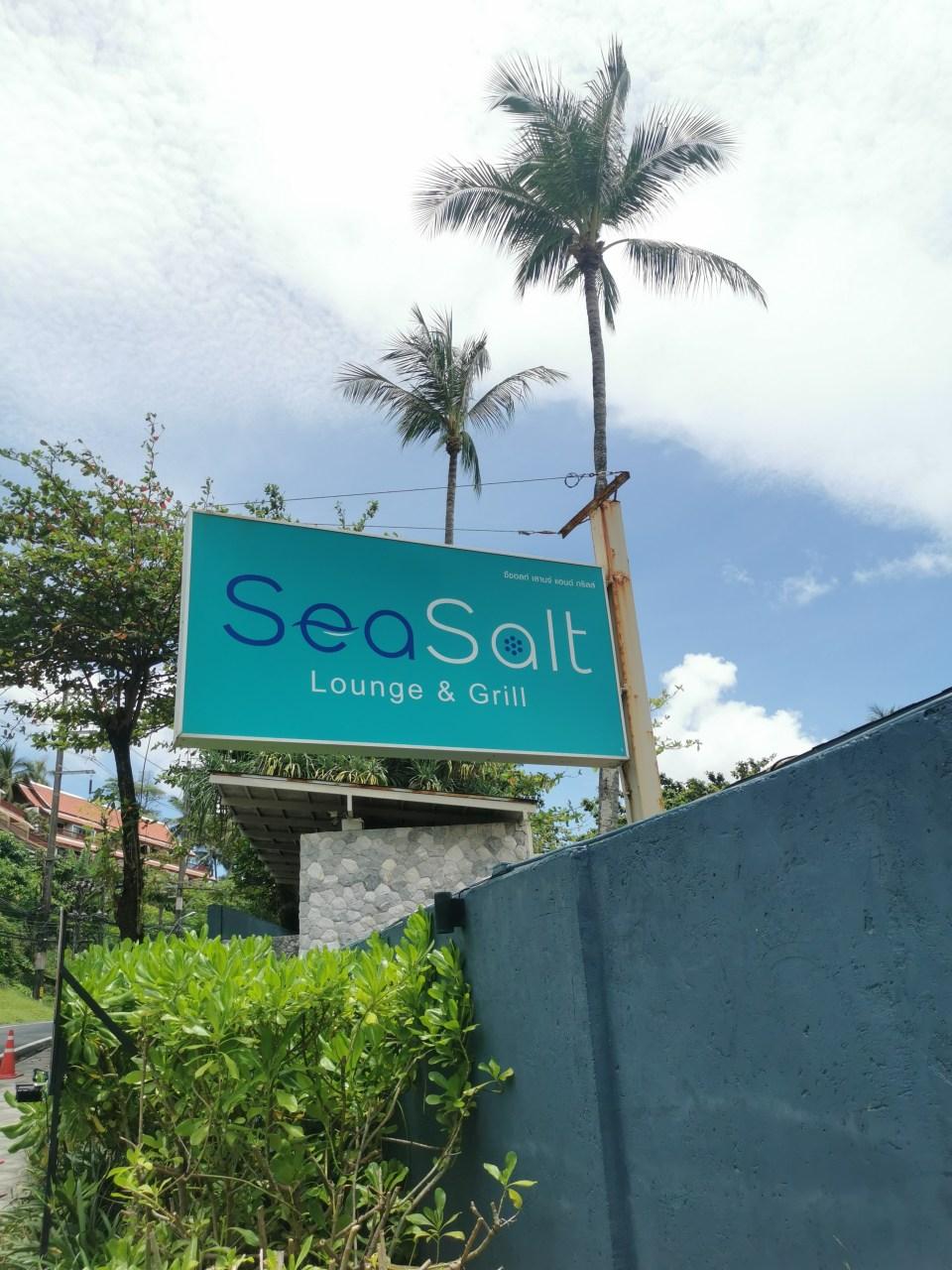 SeaSalt Lounge in Kalim/Patong