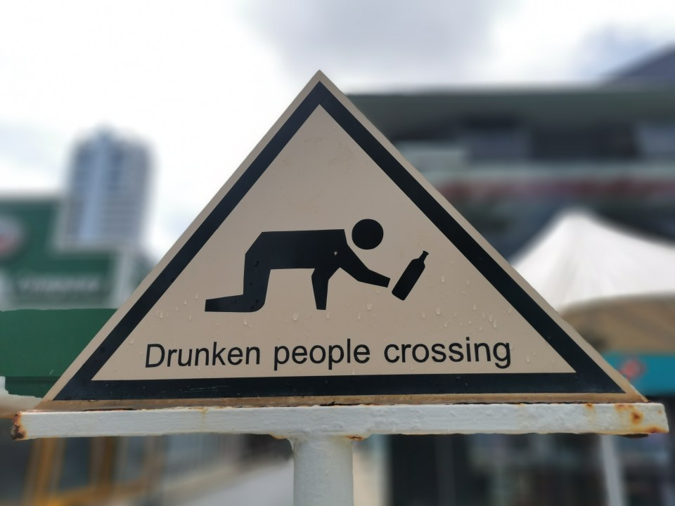 Funny street sign in Patong