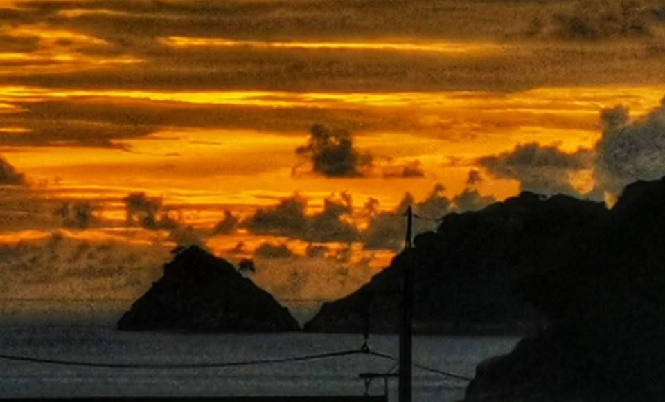 Sunset at Kalim Bay/Beach.