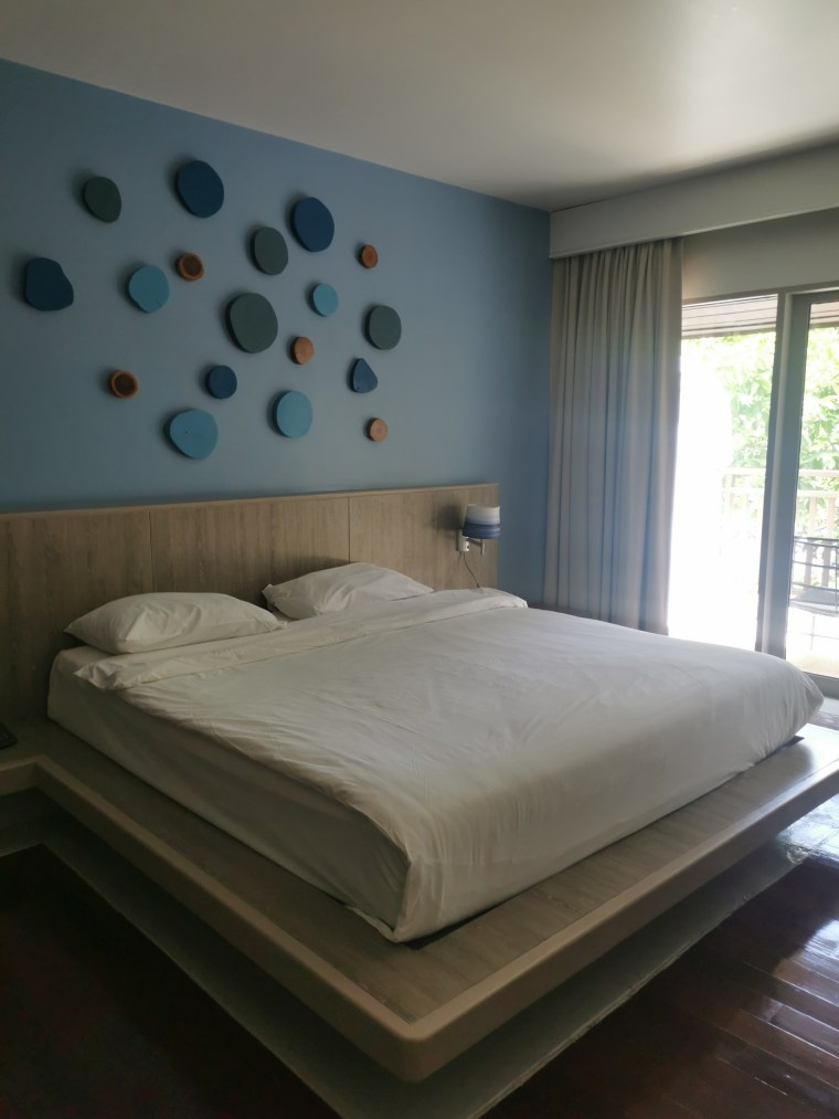 Bed in Andamantra resort