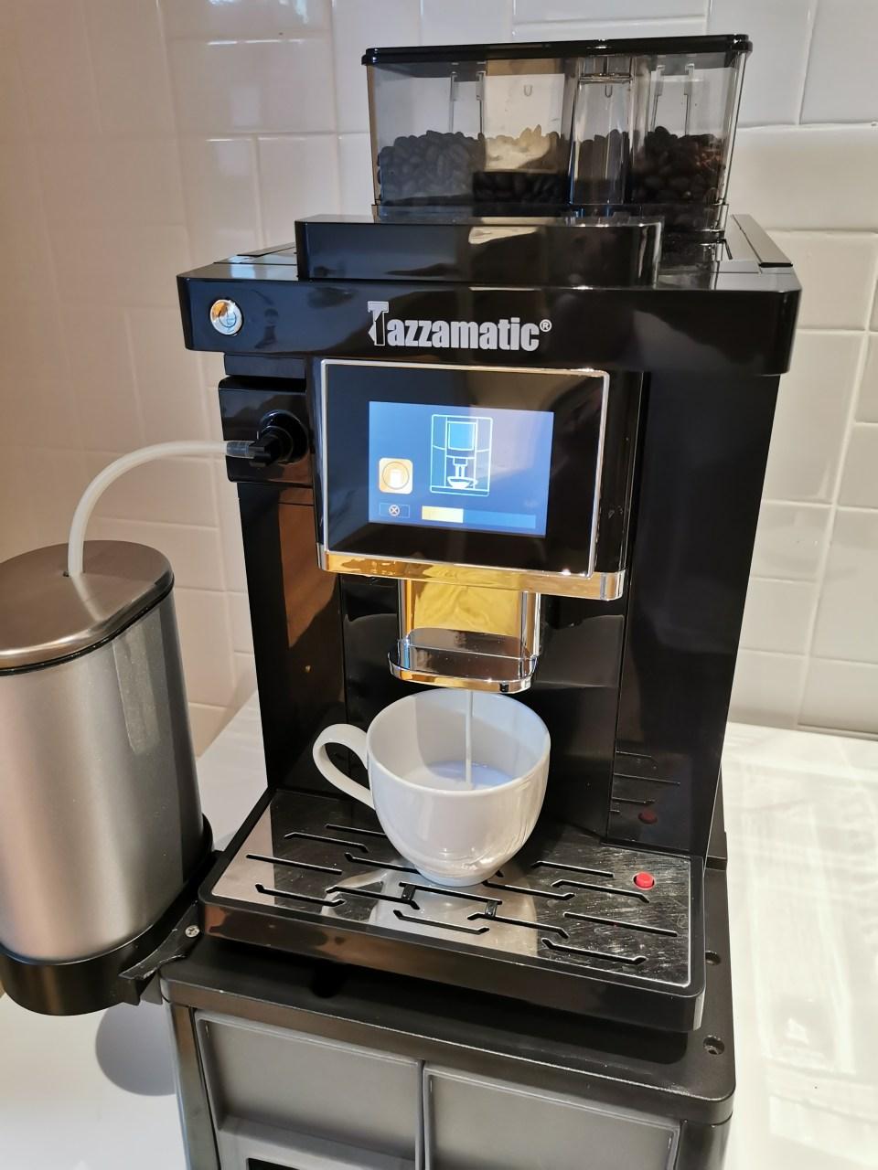 Coffee machine at Phuket Airport