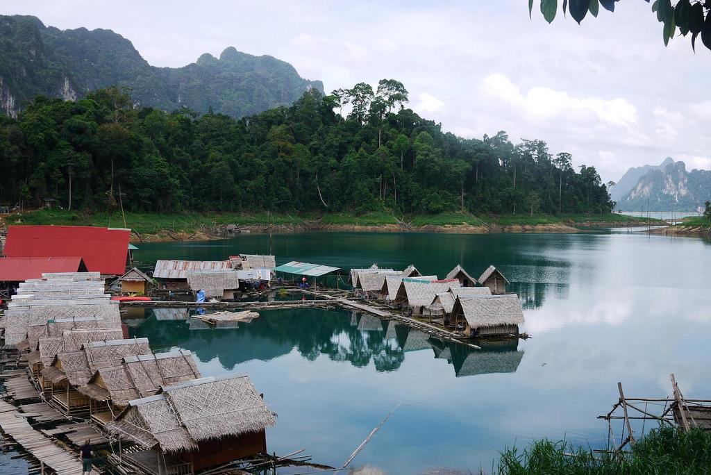 Khao Sok Floating Bungalows  Thailand Travel Bag