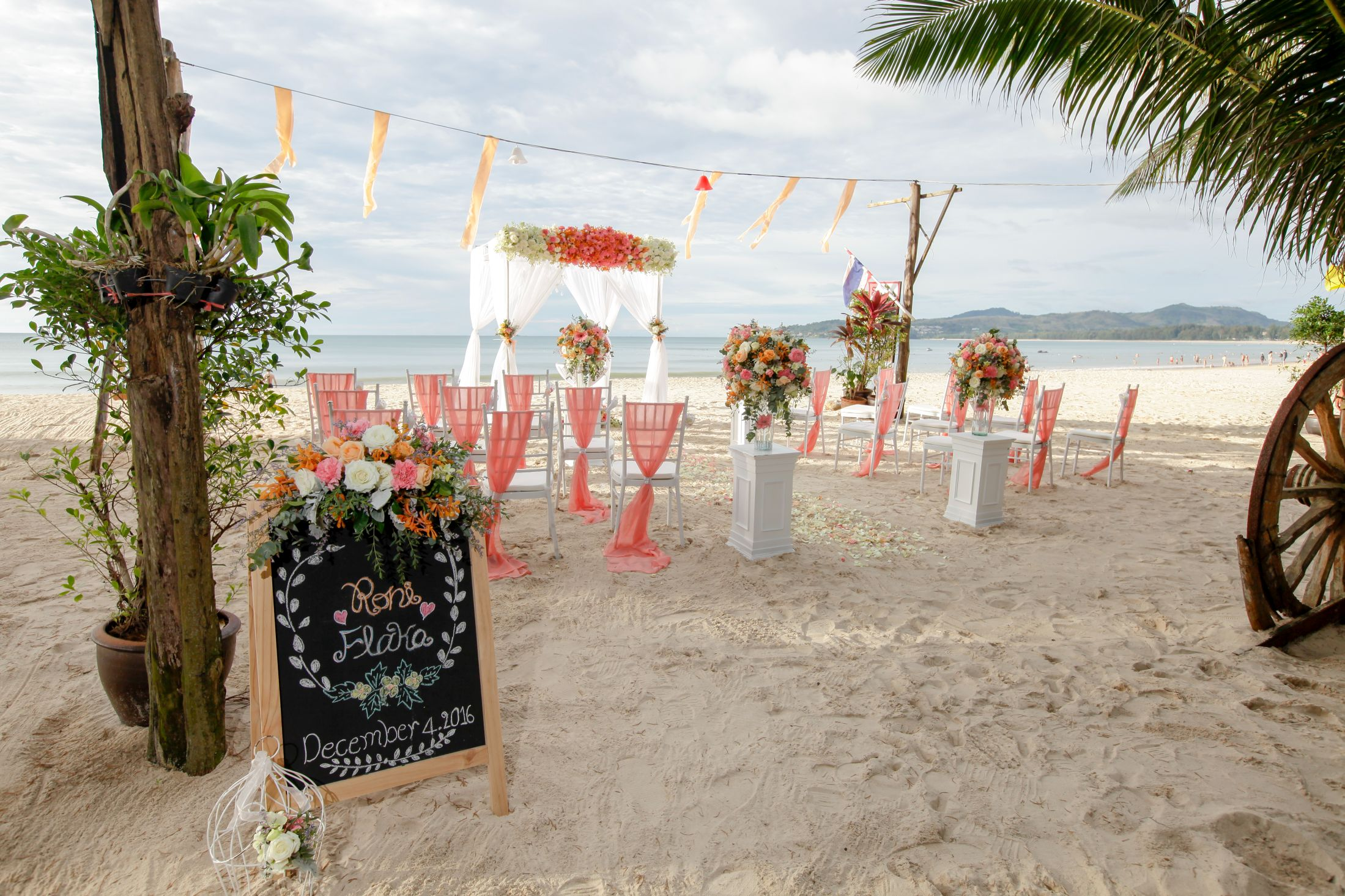 Thailand Weddings Planners and Packages of Phuket Bang Tao Weddings