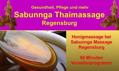 Honigmassage bei Sabunnga Massage Regensburg