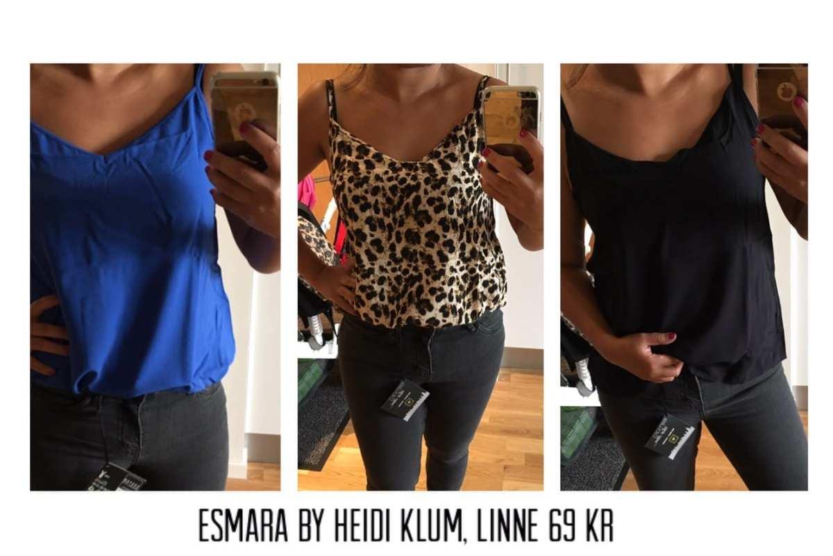 Jag har shoppat Esmara by Heidi Klum på Lidl!