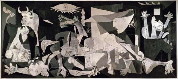 ภาพวาด Guernica (1937) โดย Pablo Picasso
