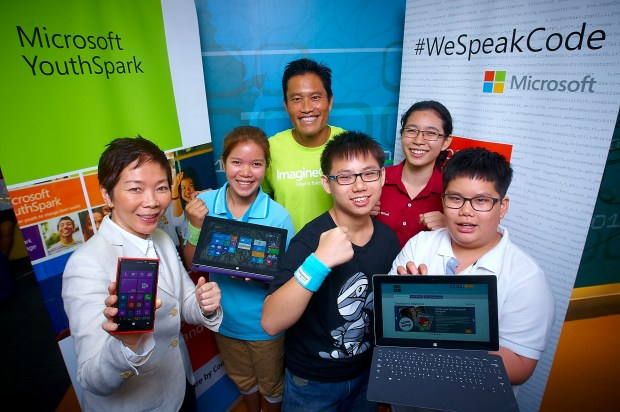 """โครงการ """"#wespeakcode"""" จัดโดยไมโครซอต์และพันธมิตร (ภาพจาก smallroomgadget.com)"""