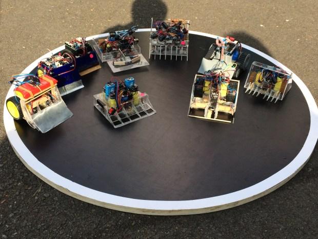 โฉมหน้าหุ่นยนต์ซูโม่ (Sumo-Bots Battle)