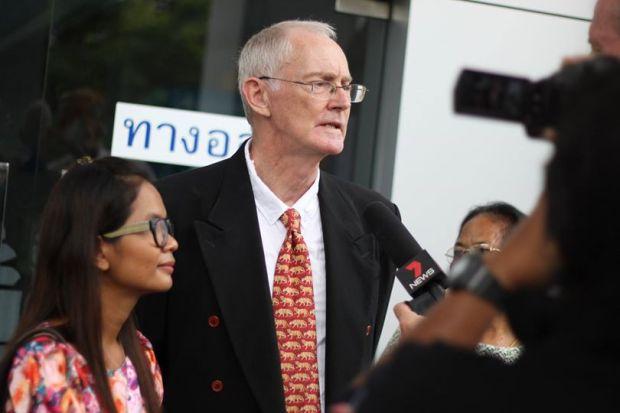 ศาลภูเก็ตยกฟ้องคดีหมิ่นประมาท-พ.ร.บ.คอมฯ สำนักข่าวภูเก็ตหวาน (1 ก.ย.58) - ภาพจากไอลอว์