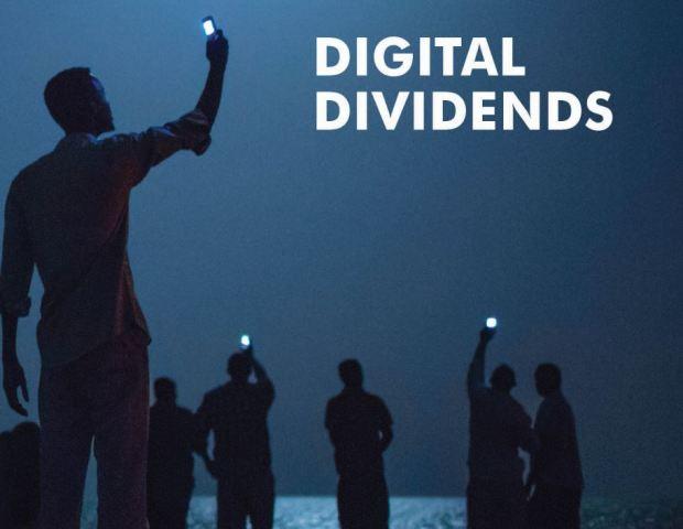 ภาพหน้าปกรายงาน World Development Report 2016: Digital Dividends