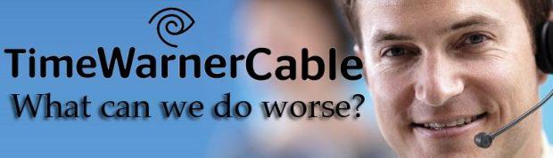 """""""มีอะไรที่เราทำได้แย่กว่านี้อีก?"""" - ภาพล้อเลียนบริการของไทม์วอร์เนอร์เคเบิล"""