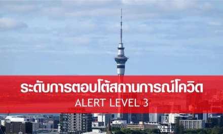 รายละเอียดเกี่ยวกับ Alert Level 3