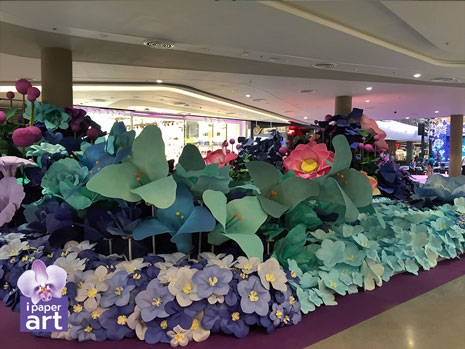 ดอกไม้กระดาษ อีเว้นท์ สวนในห้าง