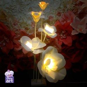 ดอกไม้กระดาษ อีเว้นท์ โคมดอกไม้